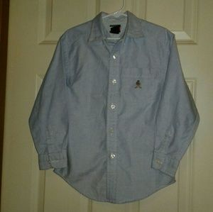 Tommy Hilfiger vtg boys 6 button down shirt